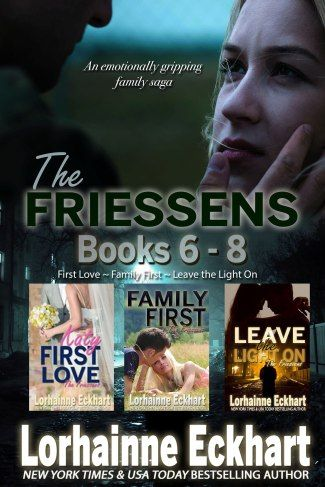 Special boxed set features three titles from the emotionally-gripping family saga including First Love, Family First and Leave the Light On.