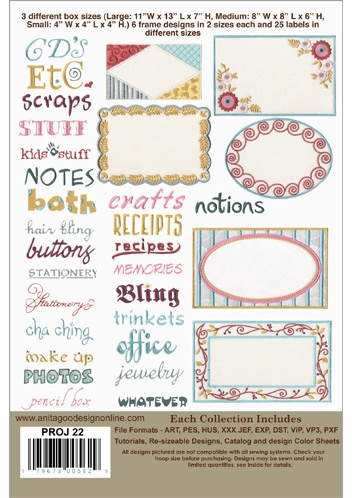 Embroidery Quilt Label Designs : 17 Best images about ANITA GOODESIGN Embroidery... on Pinterest Quilt, Quilt labels and ...