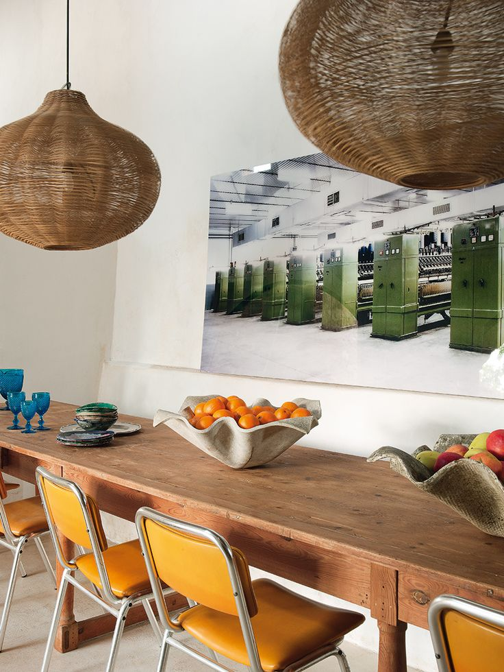 17 mejores ideas sobre sillas de mimbre en pinterest for Sillas amarillas comedor