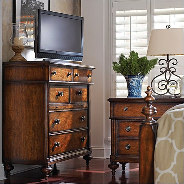 British Colonial - Media Chest in Caribe - 020-63-11 - Stanley Furniture - Bedroom