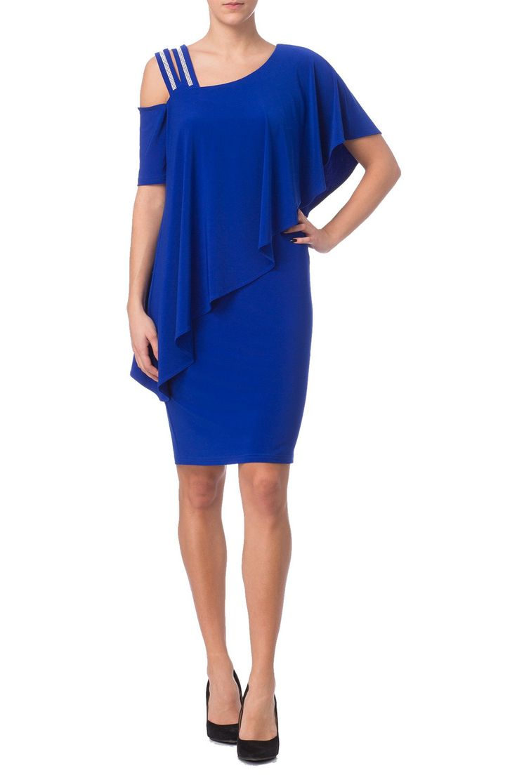 Joseph Ribkoff - Royal Sapphire Dress - Style No: 172013