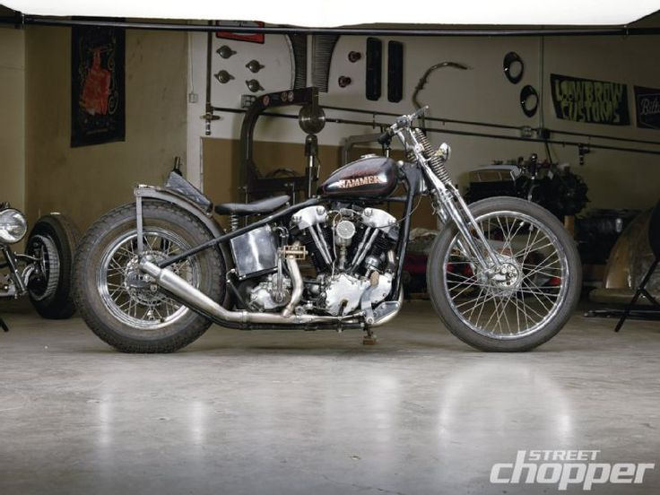 "1941 Harley-Davidson Knucklehead Rigid- Dan Collins' ""Velvet Hammer"""