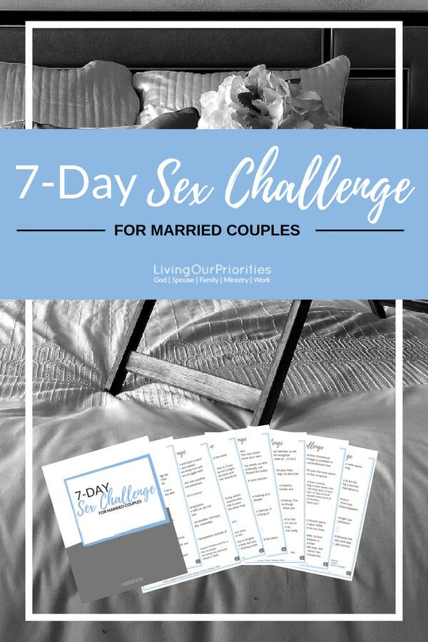 7 Days Of Deeper Intimacy Intimacy In Marriage Marriage
