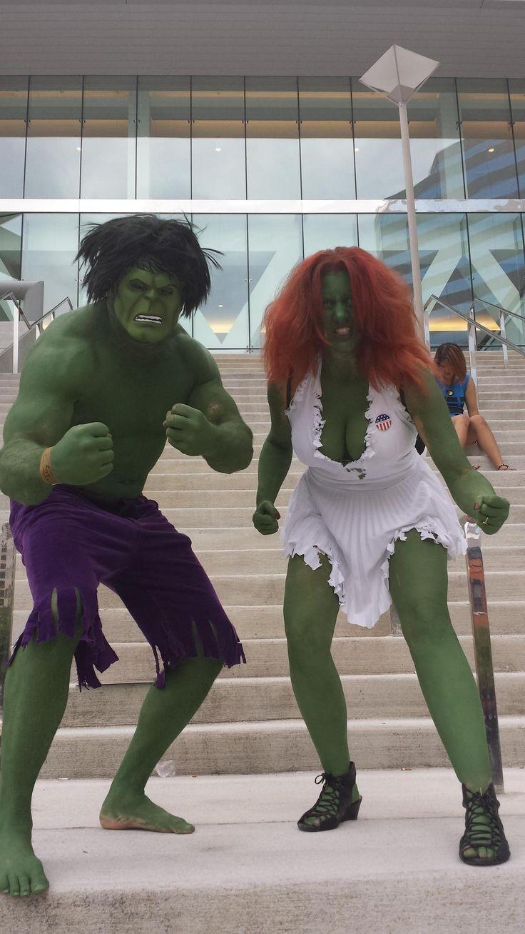 Hulk and She Hulk by IHv2RtrnSumVdeotapes.