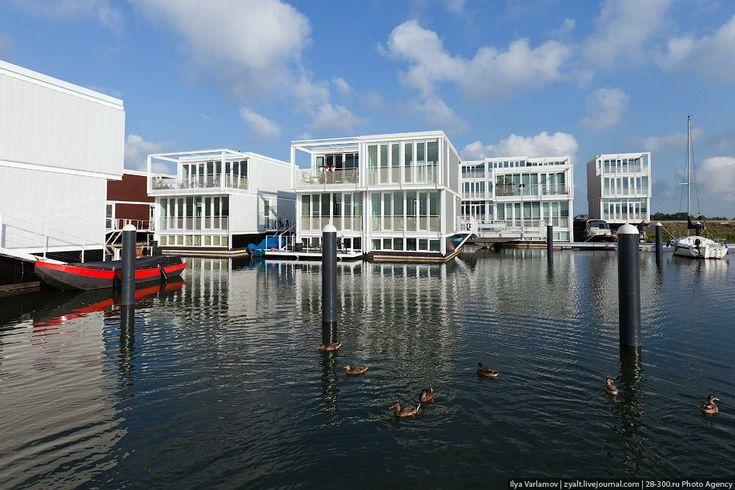 Плавучие дома в Амстердаме – varlamov.ru