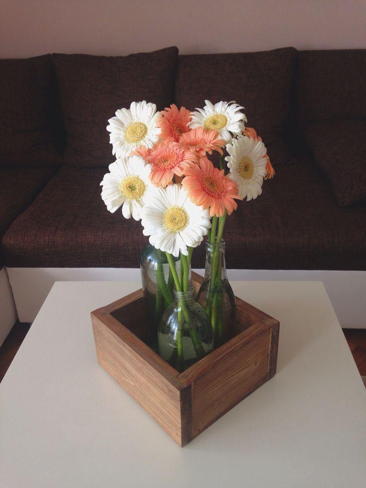 Daisy love 🌼 #vintage #box #woodbox #daisy #flower #home #homedecor #homedecoration #decor #decoration