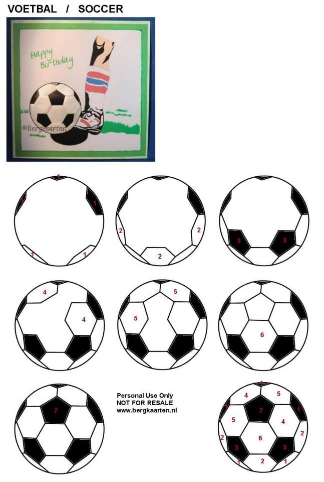 how to draw a soccer ball....seeking knowledge