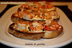 """Esta tostada la probé hace años en un bar de Madrid, la cafetería Cervantes, en el centro de la ciudad. Tienen unas """"ruedas de tostadas"""" sur..."""