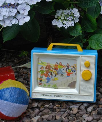 Vintage Fisher Price TV