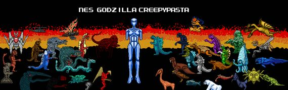 Top 10 Games That Fans Have Vastly Improved - NES Godzilla Creepypasta