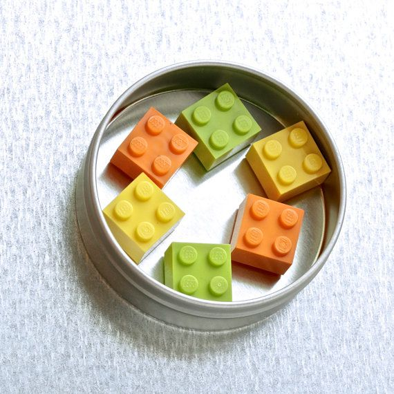 Colorful magnets ~ LEGO® magnet set ~ Orange magnets ~ Yellow magnets ~ Lime magnets ~ Cool gifts for teens ~ Small Gifts for LEGO® lovers Exclusively at http://BrickAndButton.Etsy.com