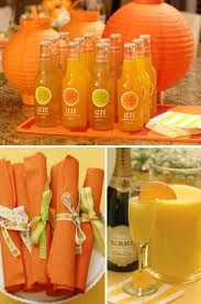 Citrus orange lemon grapefruit party theme lime tangerine yellow green decor  izze from chipotle to match colors64 best Citrus Themed Wedding images on Pinterest   Themed  . Orange And Lime Green Wedding Theme. Home Design Ideas
