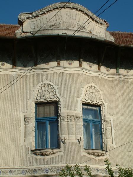 Casa Gyulai - detaliu, strada Ciucului 28, Sfântu Gheorghe