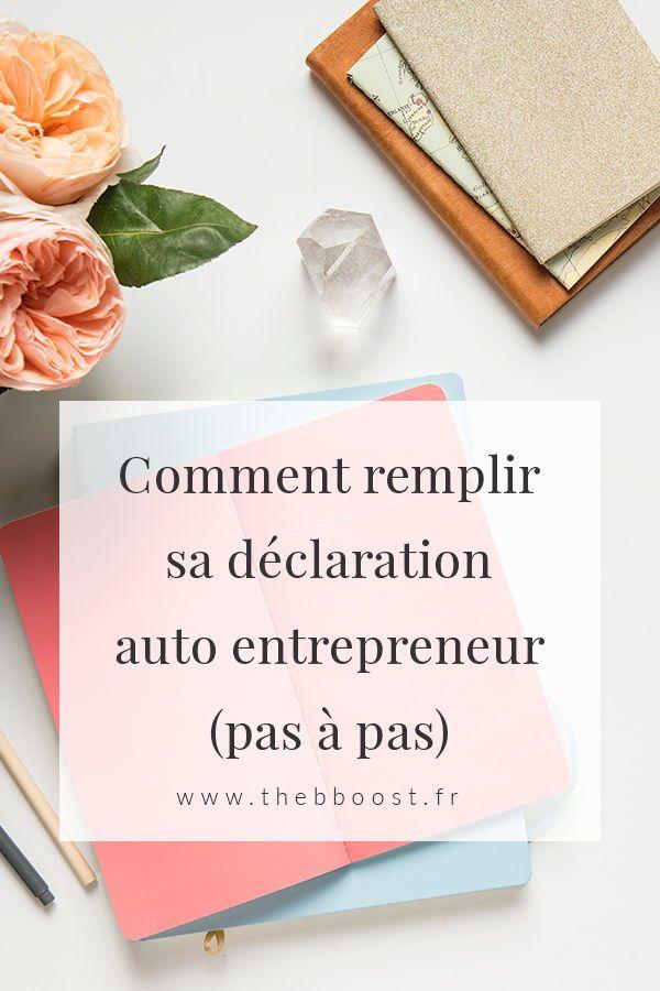 Comment Declarer Son Ca En Auto Entrepreneur Blogueuses Francophones