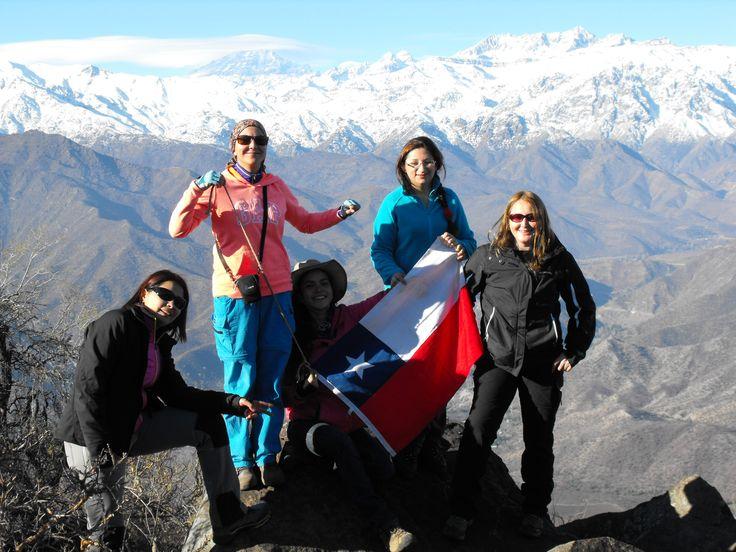 Trekking  Cerro La Mesa  o Mercachas  2015
