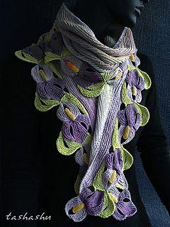 Ravelry: Scarf Suigo Sawara pattern by Svetlana Gordon