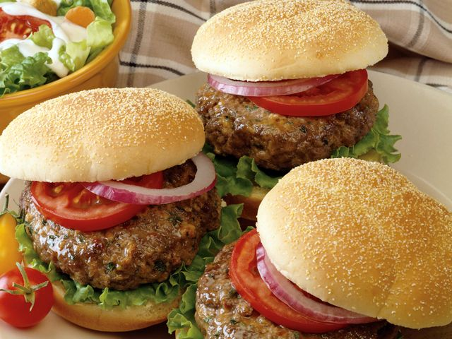 Garlic Ranch Burger