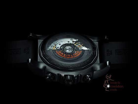 Breitling Chronomat 44 Raven - Caseback