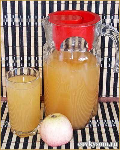 домашний лимонад из яблок