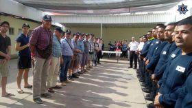 H. Cuerpo de Bomberos recibe a voluntarios de Francia para reforzar vínculos