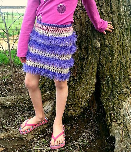 Ravelry: Firecracker Flapper Skirt/Toddler pattern by Lisa Jelle