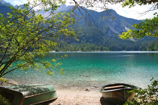 Lago di Tovel, gioiello della Val di Non