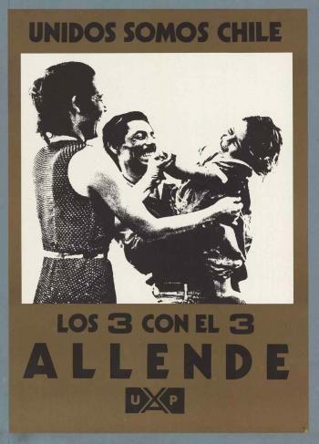 Salvador Allende. Elección Presidencial, 1970.