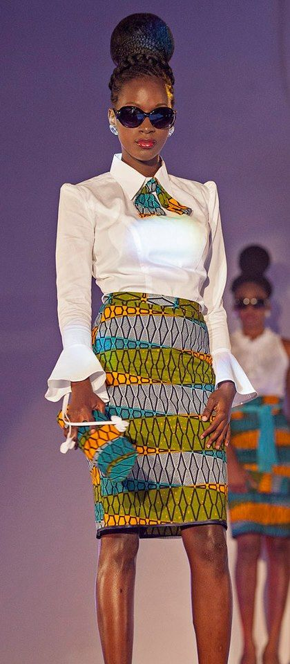 I want this look and I will get it. Its African inspired.