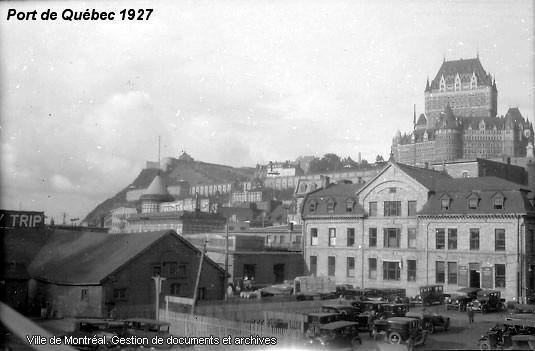 Anciennes photos de la Ville de Québec