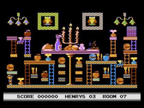 Henry's House Intro Atari 800