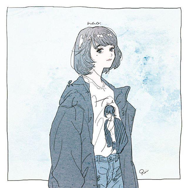 #泣きぼくろ #illustration #artwork #drawing
