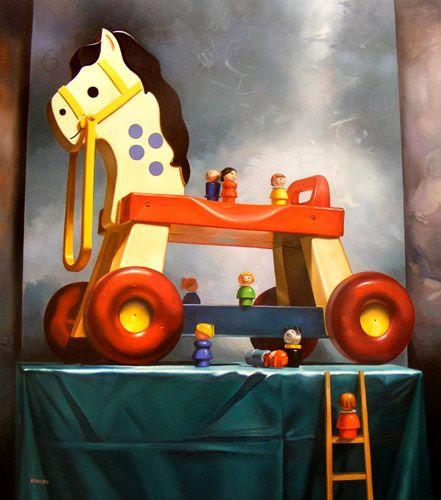 Margaret Morrison | OIL | Trojan Horse