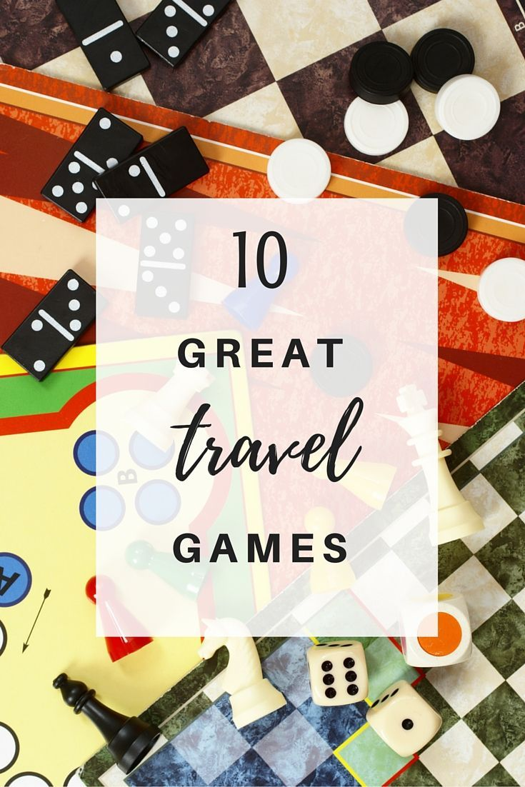 Do you know or have kids who travel? Gear up with some of these great travel games. They make the perfect gift any time of year!