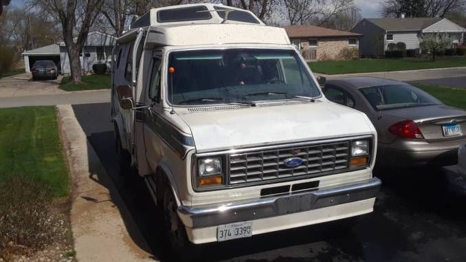 1989 E350 Transvan In Tinley Park Il Tinley Park Campers For Sale Rv Types