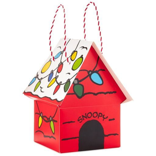 Peanuts® Snoopy's Dog House itty bittys® Stuffed Animal Carrier,