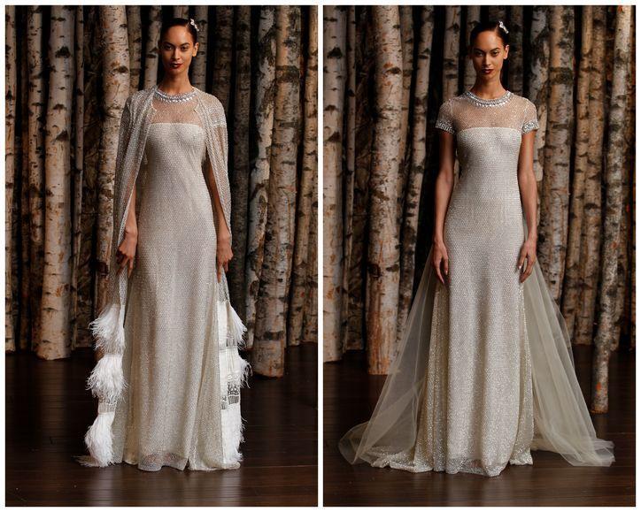 Les 25 meilleures id es de la cat gorie naeem khan wedding for Robes de mariage double baie
