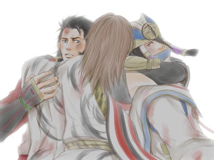 夢幻の章 関ヶ原西軍 勝利  「左近、吉継、生きていてくれて ありがとう---。」