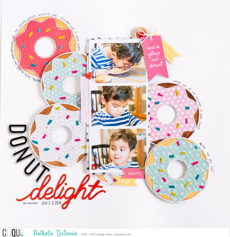 DONUT DELIGHT - Scrapbook.com