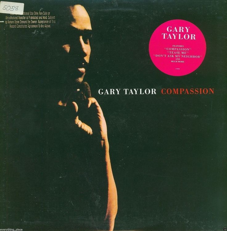 Gary Taylor Compassion Vinyl LP Record Album