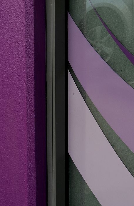 Shopfront Abstract    Photograph by Denise Clark