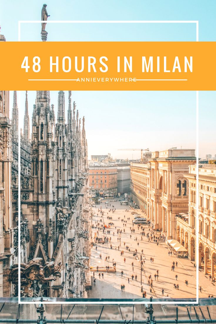 Milan is a beautiful place, but it is also easy to get overwhelmed by the city and the many tourists. I am here to help and have put together a review of the biggest sights in Milan and some travel tips, so you will know how to spend your first 48 hours in Milan.