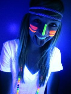ideas for a neon teenage birthday - Google Search
