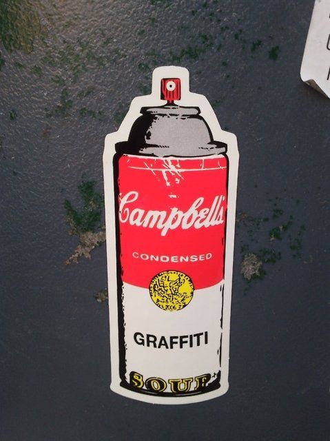 Fancy - Campbell's Graffiti Soup by Rene Gagnon