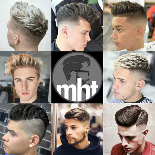 Young Men's Haircuts and Hairstyles - Fades, Quiffs, Pompadours, Undercuts, and Comb Overs!