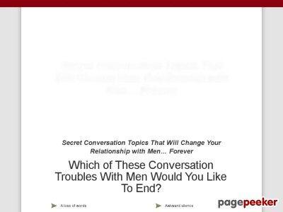 nice Irresistible Conversation Topics Men Actually Enjoy