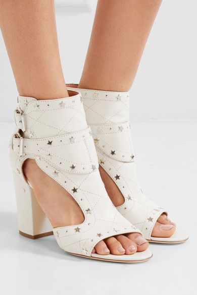 LAURENCE DACADE Rush studded quilted leather sandals