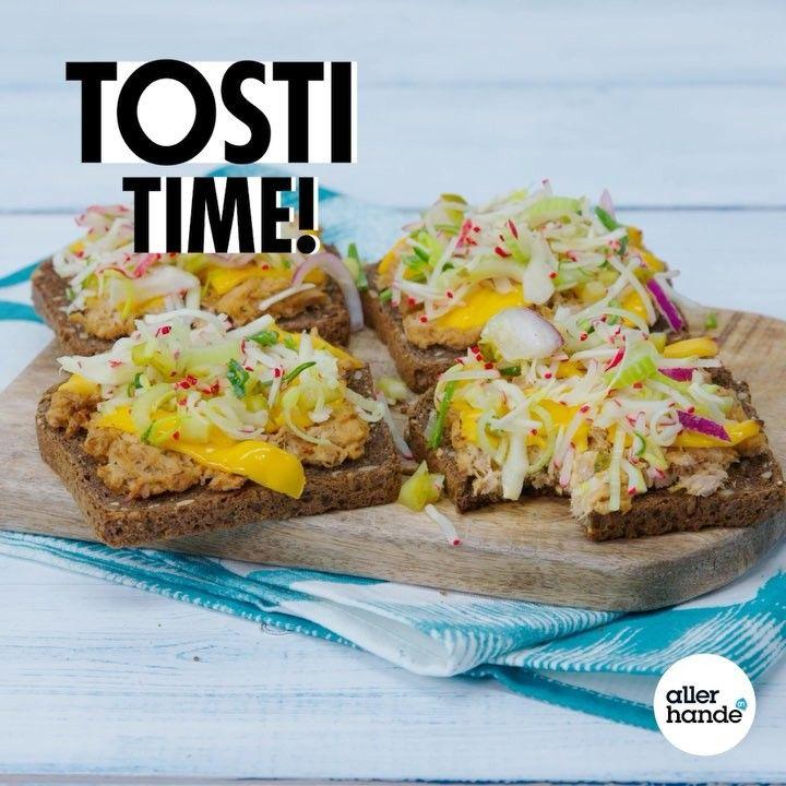 276 vind-ik-leuks, 13 reacties - @allerhande op Instagram: 'Wij smelten voor deze tuna melt! 😍 #allerhande #recept #tosti #tostitime #tunamelt #brood #bread…'