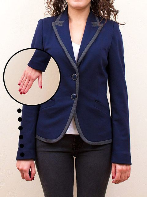 170 best Sewing: Make a Jacket/ Restyle images on ...