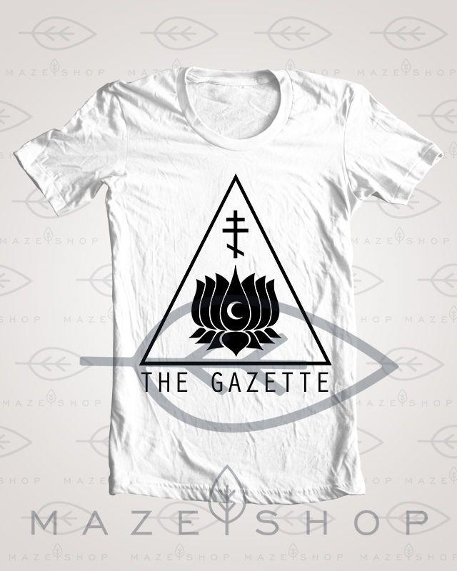 The Gazette Ominous T Shirt One ok Rock Girugamesh Babymetal Diura KRA Deluhi #Handmade #BasicTee