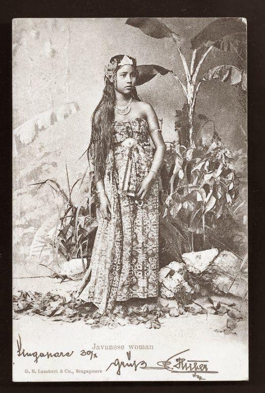 Javanese Woman ~ ca 1899